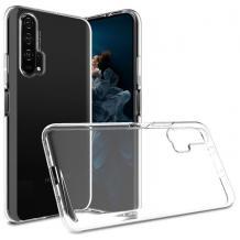 Силиконов калъф / гръб / TPU NORDIC Classic Air Case за Huawei Honor 20 / Huawei Nova 5T - прозрачен
