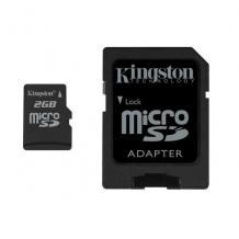 Micro SD 2 GB Kingston