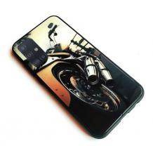 """Луксозен стъклен твърд гръб за Apple iPhone 11 6.1"""" - мотор"""