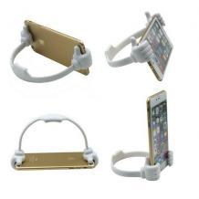Универсална силиконова стойка / Universal TPU Holder OK Stand / 6 - 22cm - бял / Hands
