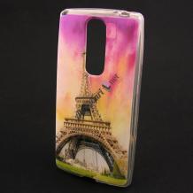 Силиконов калъф / гръб / TPU за Coolpad Torino S - Айфелова кула / цветен