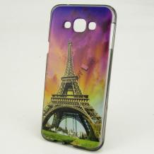 Силиконов калъф / гръб / TPU за Samsung J500 Galaxy J5 - Айфелова кула