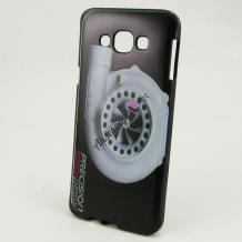 Силиконов калъф / гръб / TPU за Samsung J500 Galaxy J5 - черен / Precision