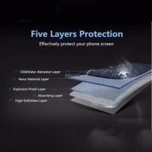 Удароустойчив скрийн протектор / FLEXIBLE Nano Screen Protector / за дисплей на LG K10 2017