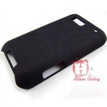 Заден предпазен капак Grid Style за Motorola Defy черен