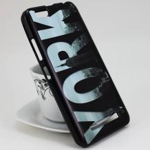 Силиконов калъф / гръб / TPU за Asus Zenfone 4 Max ZC520KL - черен / New York