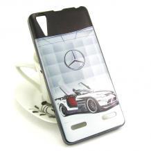Силиконов калъф / гръб / TPU за Lenovo A6000 / A6010 - Mercedes