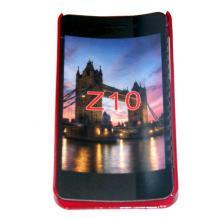 Заден предпазен твърд гръб / капак / SGP за BlackBerry Z10 - червен