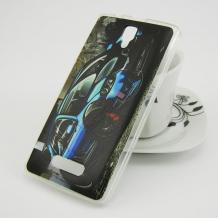 Силиконов калъф / гръб / TPU за Coolpad Modena 2 - черен / кола