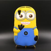 Силиконов калъф / гръб / TPU 3D за HTC Desire 630 - Minions Despicable me / Миньони Аз проклетникът