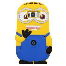Силиконов калъф / гръб / TPU 3D за Samsung Galaxy S8 Plus G955 - Minions Despicable me / Миньони Аз проклетникът