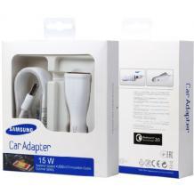 Оригинално зарядно за кола 12V за Samsung Galaxy A6 2018 A600 / Type C / Fast Charger