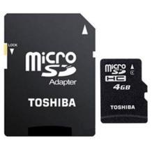 Micro SD HC card Toshiba - 4GB