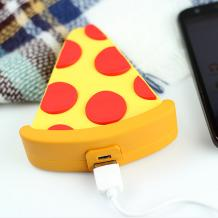Универсална външна батерия Cartoon Emoji / Universal Power Bank Cartoon Emoji 5600mAh - Pizza