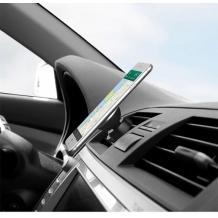 Магнитна универсална стойка за кола Air Vent - черна със златисто