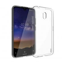 Ултра тънък силиконов калъф / гръб / TPU Ultra Thin за Nokia 2.2 - прозрачен