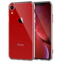 Луксозен твърд гръб за Apple iPhone XR - прозрачен