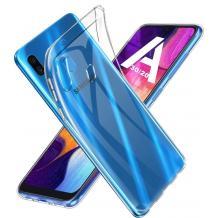 Силиконов калъф / гръб / TPU за Samsung Galaxy A20s - прозрачен