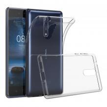 Ултра тънък силиконов калъф / гръб / TPU Ultra Thin за A1 Smart N9 - прозрачен
