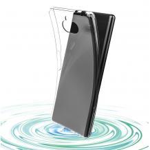 Ултра тънък силиконов калъф / гръб / TPU Ultra Thin за Sony Xperia 10 / XA3 - прозрачен