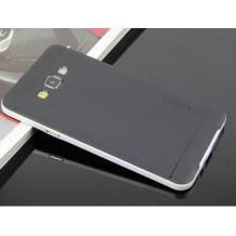 Силиконов гръб SPIGEN SGP Neo Hybrid за Samsung Galaxy J5 / Samsung J5 - черен с бял кант