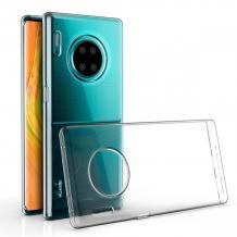 Ултра тънък силиконов калъф / гръб / TPU Ultra Thin за Huawei Mate 30 - прозрачен