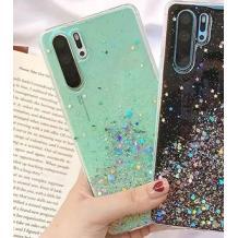Силиконов калъф / гръб / TPU за Samsung Galaxy Note 10 Plus N975 - брокат / мента