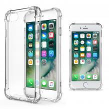 Удароустойчив силиконов калъф за Apple iPhone 5 / iPhone 5S / iPhone SE - прозрачен