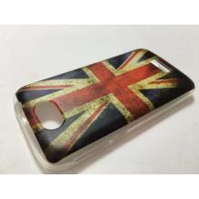 """Силиконов калъф / гръб / TPU за Telenor Smart II 4.5"""" / Telenor Smart 2 - Retro British Flag"""