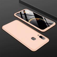 Твърд гръб Magic Skin 360° FULL за Samsung Galaxy A10s - златист