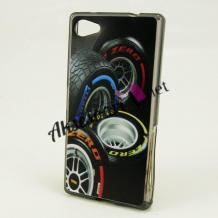 Силиконов калъф / гръб / TPU за LG Q6 - черен / гуми