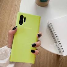Оригинален гръб Silicone Cover за Samsung Galaxy Note 10 Plus N975 - лайм