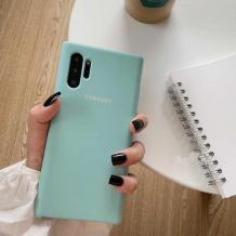 Оригинален гръб Silicone Cover за Samsung Galaxy Note 10 Plus N975 - светло син