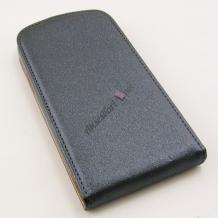 Кожен калъф Flip тефтер Flexi за Samsung J500 Galaxy J5 - сив