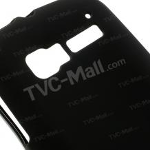 Силиконов калъф / гръб / TPU за Alcatel One Touch Pop C5 5036 / Pop C5 / Alcatel C5 - черен / мат