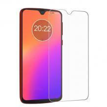 Стъклен скрийн протектор / 9H Magic Glass Real Tempered Glass Screen Protector / за дисплей нa Motorola Moto G7 Plus - прозрачен