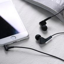 Оригинални стерео слушалки Remax Proda PD-E100 / handsfree / - черни