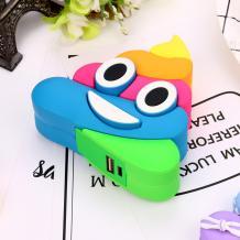 Универсална външна батерия Cartoon Emoji / Universal Power Bank Cartoon Emoji 5600mAh - многоцветна / Poop
