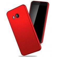 Силиконов калъф / гръб / TPU за HTC U11 Life - червен