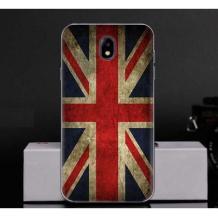 Силиконов калъф / гръб / TPU за Meizu M5c - Retro British Flag