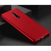 Силиконов калъф / гръб / TPU за A1 Smart N9 - червен / мат