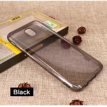 Ултра тънък силиконов калъф / гръб / TPU Ultra Thin за Meizu M6 - сив / прозрачен