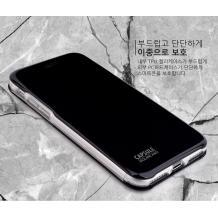 Луксозен кожен калъф Flip тефтер със стойка OPEN за Apple iPhone X / iPhone XS - черен / гланц