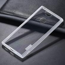 Луксозен силиконов калъф / гръб / ТПУ X-level за Sony Xperia XA2 Ultra - прозрачен