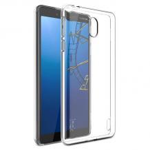 Силиконов калъф / гръб / TPU за Nokia 1 Plus - прозрачен