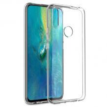 Ултра тънък силиконов калъф / гръб / TPU Ultra Thin за Huawei P Smart Z / Y9 Prime 2019 - прозрачен