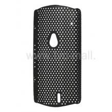 Заден предпазен капак / твърд гръб / Perforated Style за Sony Ericsson Xperia Neo MT15I / Neo V - черен