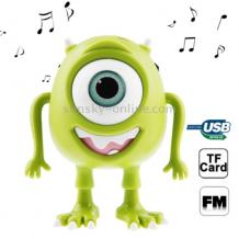 Mini USB Bluetooth тонколона с FM радио за IPod , Лаптоп , Tablet , PC, Samsung, Nokia, LG, HTC, Huawei, ZTE, iPhone - Monsters / Mike Wazowshi Art 1