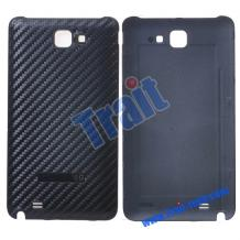 Заден капак Carbon Fiber за Samsung i9220 Galaxy Note N7000 черен