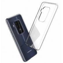 Ултра тънък силиконов калъф / гръб / TPU Ultra Thin за Motorola One Zoom - прозрачен
